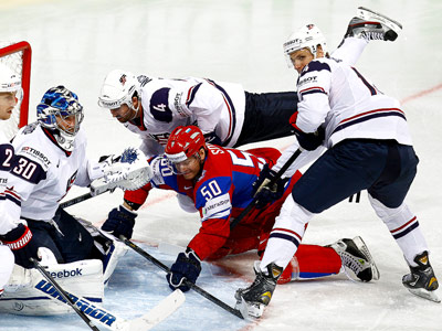 В 1/4 финала ЧМ-2013 Россия встретится с США