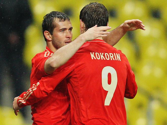 Александр Кержаков и Александр Кокорин