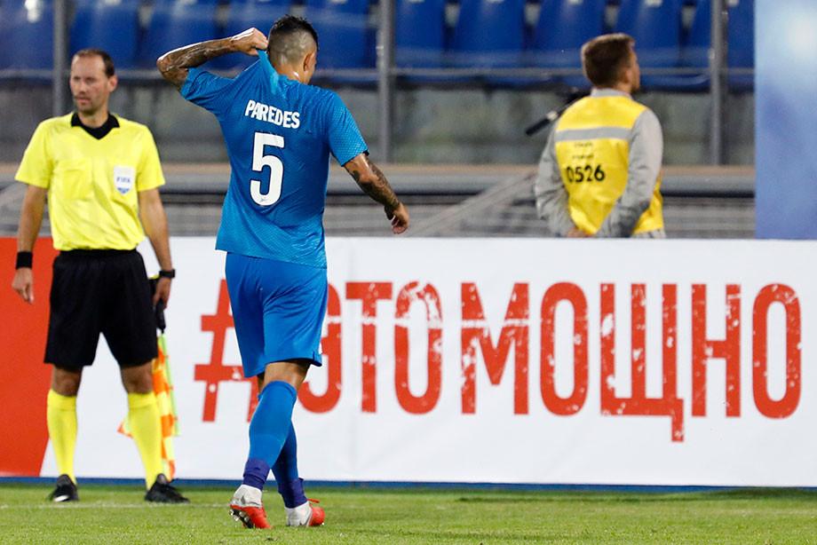 Агент опровергает стремление Паредеса перейти в«Милан»