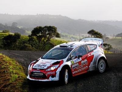 Лёб лидирует на Ралли Новой Зеландии WRC после СУ8, Новиков – третий