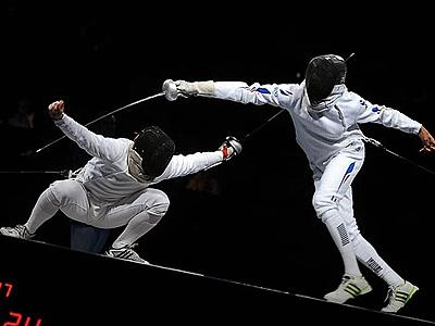 А. Шувалов – о мужской сборной по фехтованию
