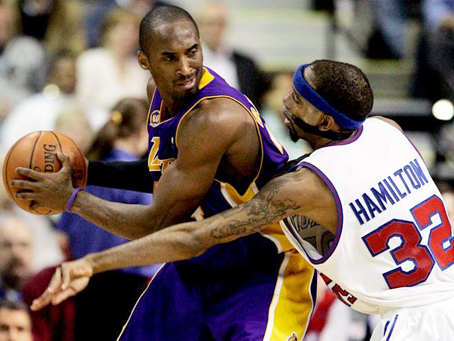 Коби Брайант пять раз становился чемпионом НБА
