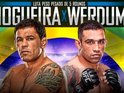Главные бои UFC on Fuel TV: Ногейра – Вердум