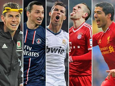 5 лучших футболистов 2013 года