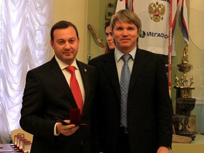 Сергей Скорович и Павел Колобков