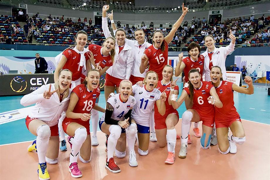 голые волейболистки сборной россии