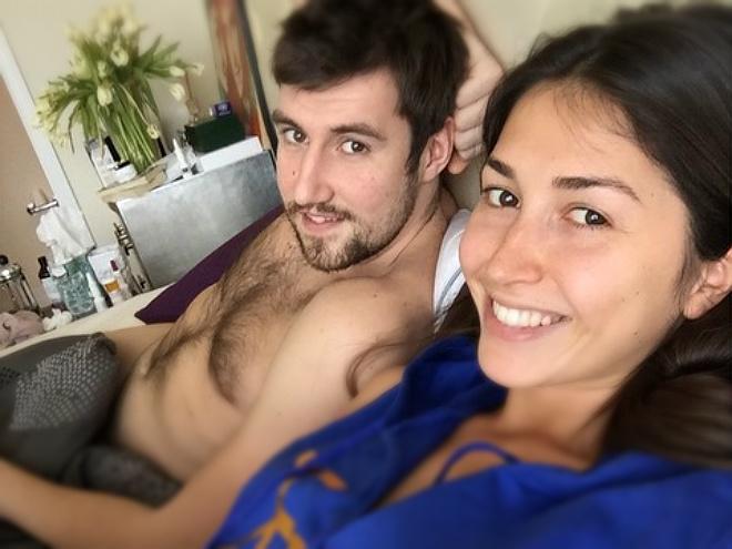 Сергей Карасёв с девушкой