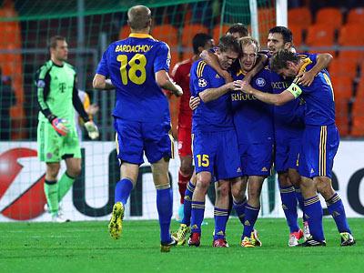 Сенсационная победа БАТЭ над «Баварией» и другие матчи Лиги чемпионов