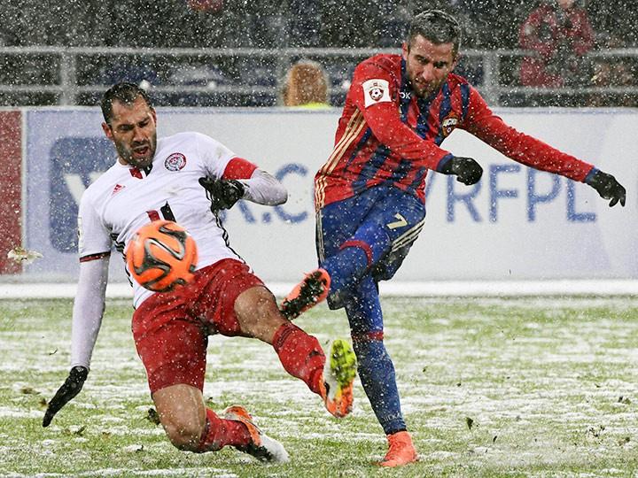 ЦСКА и «Амкар» сыграли вничью