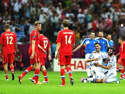 Итоги 2012 года для сборной России по футболу