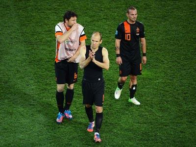 Сборная Нидерландов не набрала на Евро-2012 ни единого очка