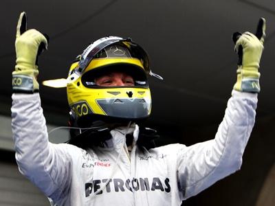 Интервью победителя Гран-при Китая Нико Росберга