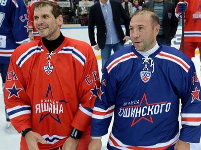 Алексей Яшин и Максим Сушинский