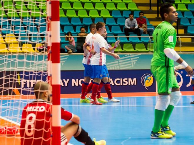 Чемпионат мира по мини-футболу. Россия — Египет