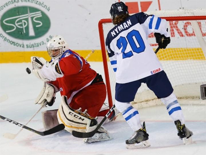 Сборная Российской Федерации U18 сыграет завыход вфинал ЮЧМ скомандой Финляндии