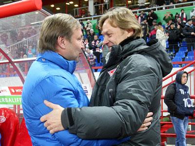 Юрий Калитвинцев и Валерий Карпин