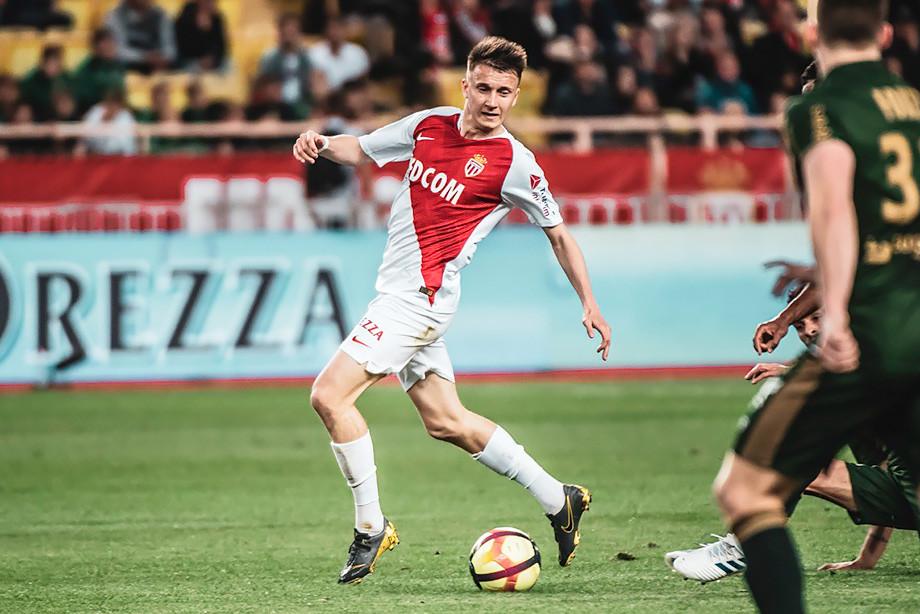 «Монако» – «Реймс» – 0:0, Александр Головин