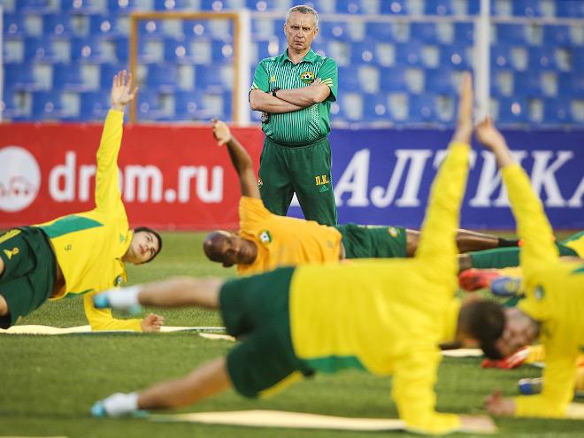 Тренировка «Кубани»