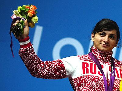 Лондон 2012. Тяжёлая атлетика. Светлана Царукаева