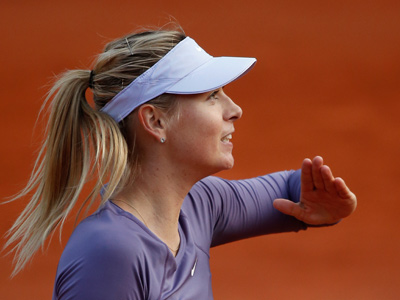 Мария Шарапова вышла в четвертьфинал РГ