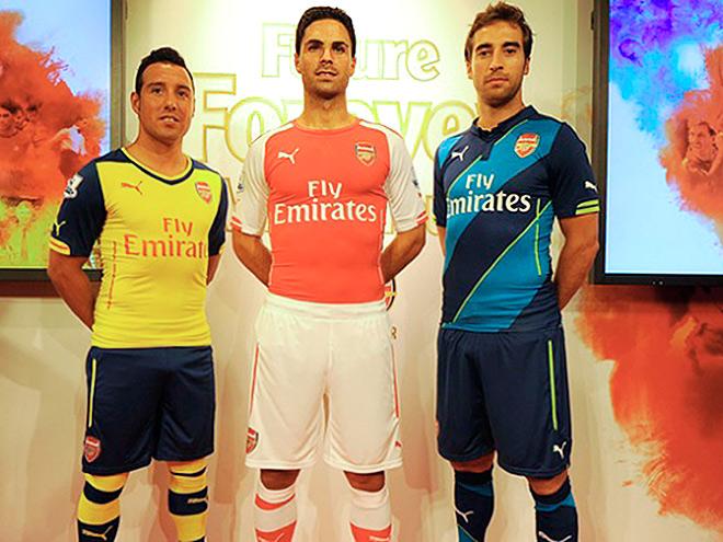 Презентация новой формы «Арсенала»