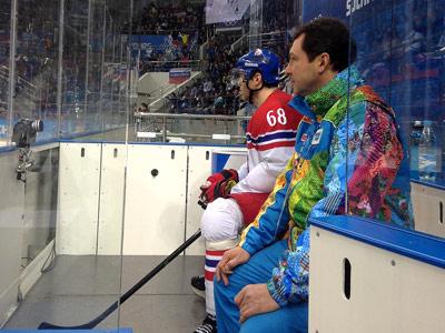 Провал сборной России в Сочи, Ягр и судейство