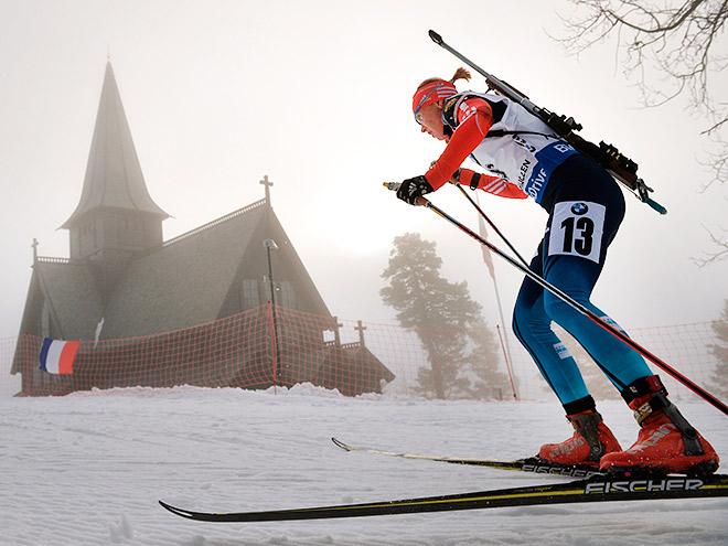Екатерина Глазырина – об индивидуальной гонке