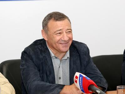 """Болельщикам представили Аркадия Ротенберга, нового президента """"Динамо"""""""