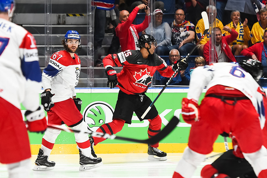 Канада — Чехия — 5:1