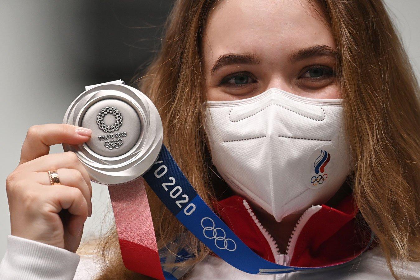 Россия – третья в медальном зачёте Олимпиады-2020