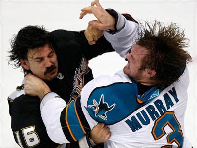 Тафгайские интриги сезона-2010/11 в НХЛ