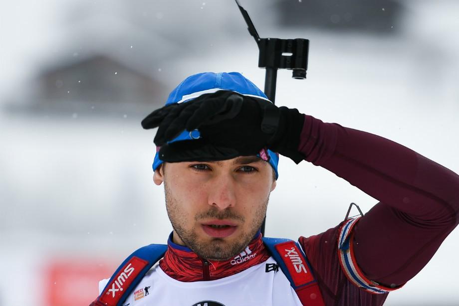 Антон Шипулин завоевал бронзу наэтапе Кубка мира побиатлону