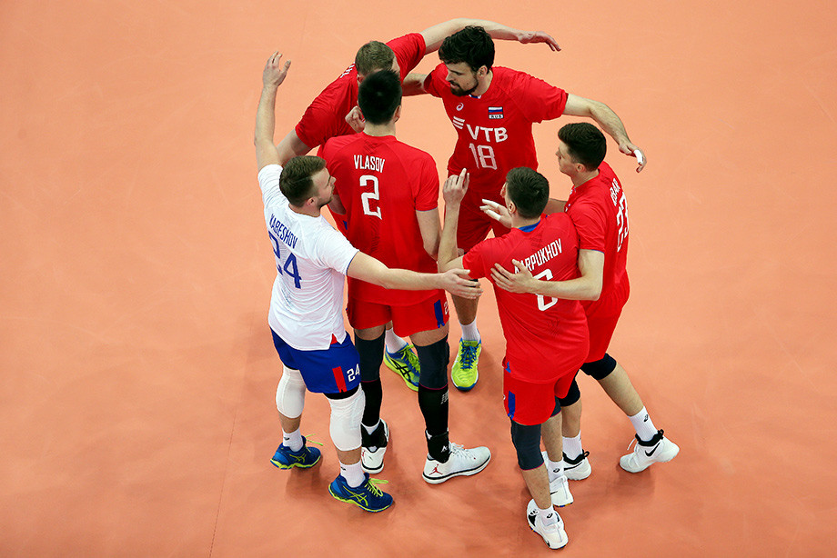 Мужская сборная России — Волейбол