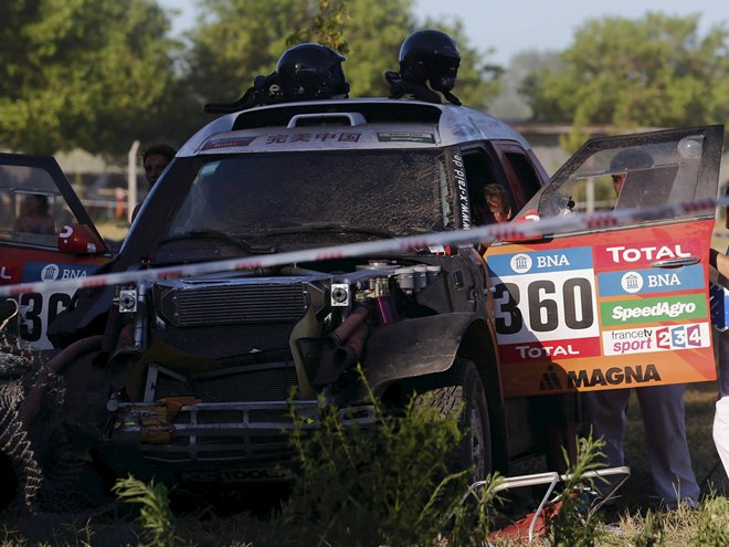 Стартовал ралли-марафон «Дакар»-2016