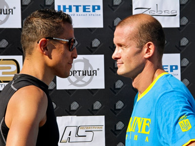 Вячеслав Узелков встретится с Мохамедом Белкасемом
