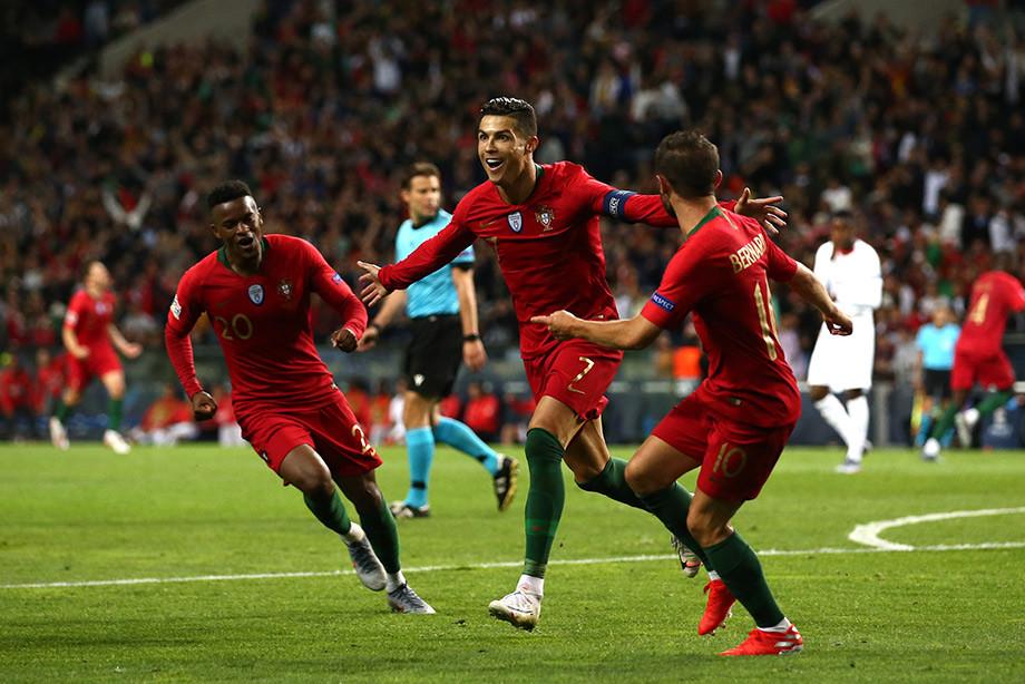 Португалия – Швейцария — 3:1, Лига наций