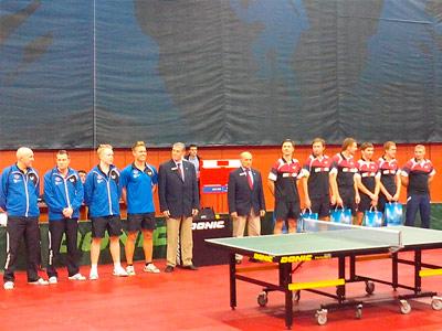 Итоги Кубка Европейского союза настольного тенниса