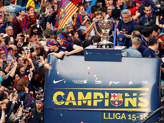 Чемпионство «Барселоны», рекорд Игуаина – главные события выходных 14-15.05