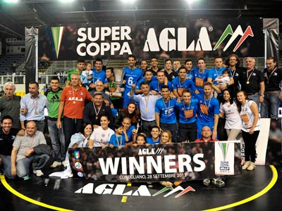 Отчёт о Суперкубке Италии по мини-футболу
