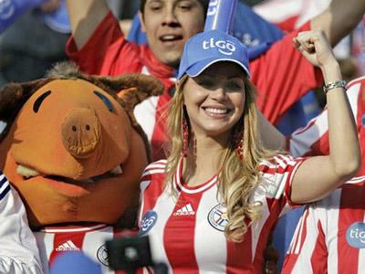 Парагвай, Парагвай, подтянитесь!