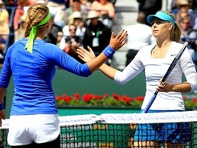 Азаренко и Шарапова
