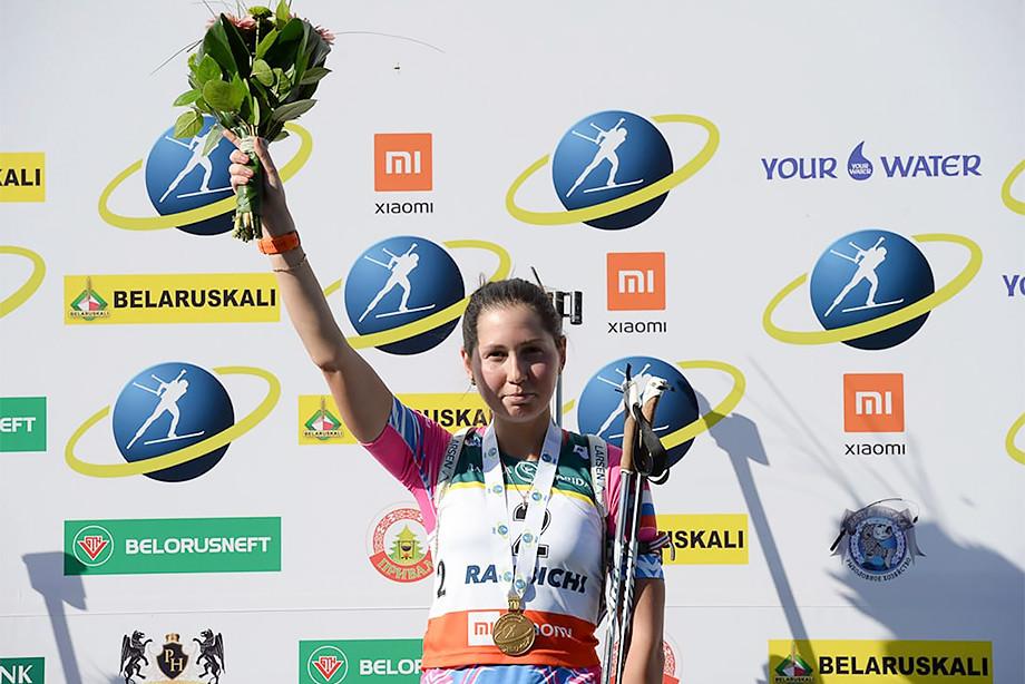 В первый день летнего ЧМ-2019 по биатлону у сборной России четыре награды