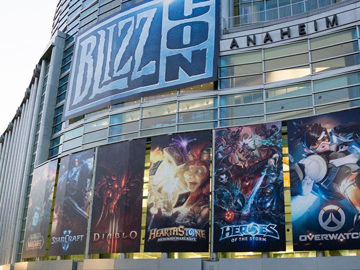 Репортаж с игрового фестиваля Blizzcon-2016