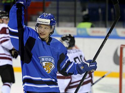 Сборная Финляндии выиграла у Латвии – 5:1
