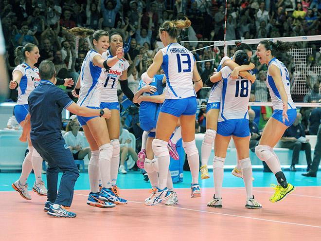 Волейбол. Чемпионат мира. Италия — США — 3:0