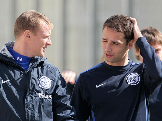 Вячеслав Малафеев и Роман Широков