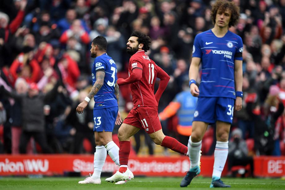 Фантастический гол Салаха в ворота «Челси»