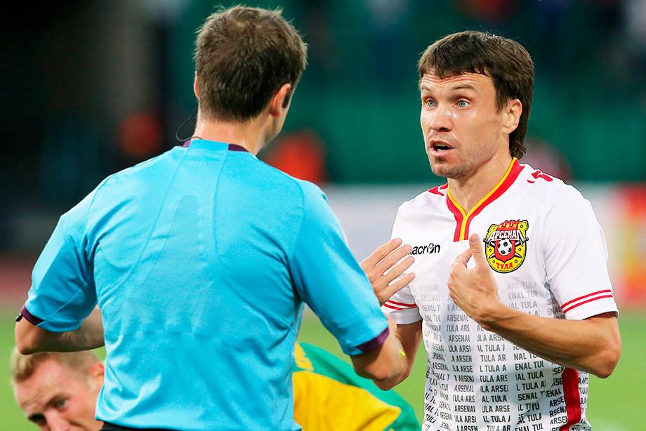 В России футболиста поймали на допинге. Он признал вину