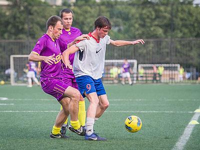 Лига чемпионов бизнеса. Футбол. 3-й и 4-й туры