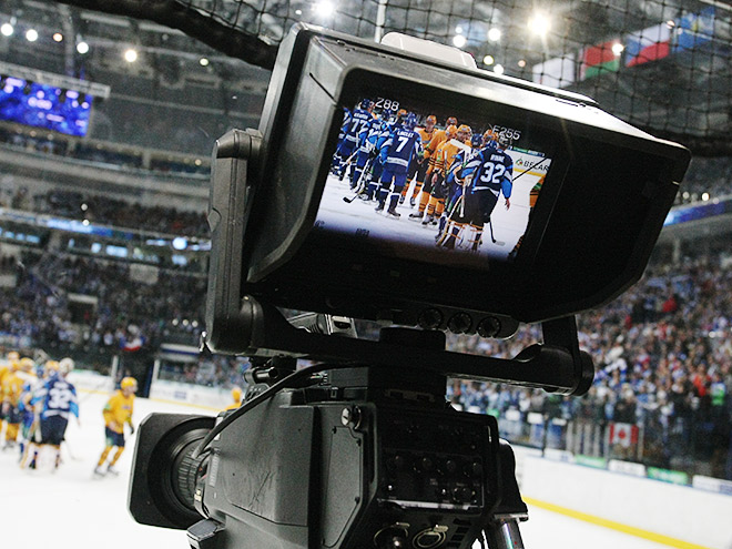 Почему КХЛ ТВ не показывает хоккей?
